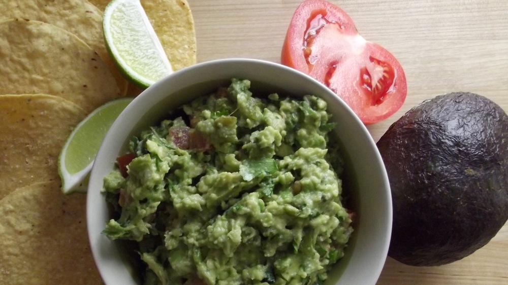 Guacamole, hold the peas please.