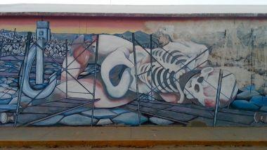 Murals at the Universidad de Sonora campus, Hermosillo.