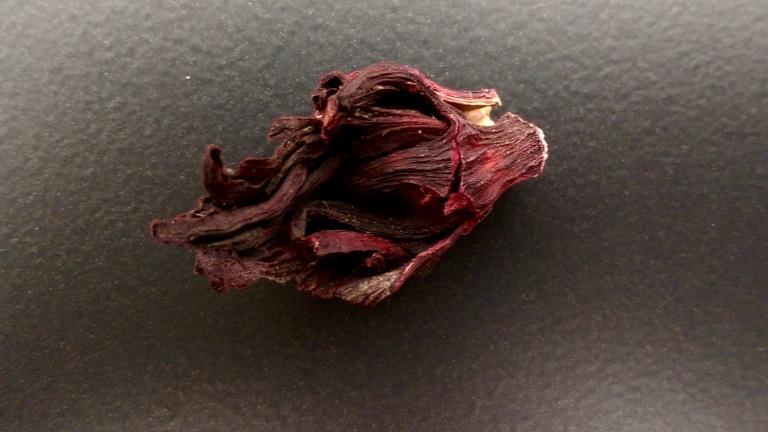Flor de jamaica. Hibiscus flower.