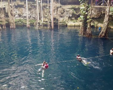 Cenote Oxman, just outside of Valladolid.
