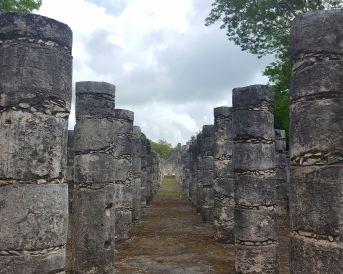 Chichen Itza, Templo de los Guerreros.
