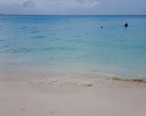 The very flat Playa Norte, Isla Mujeres, Quintana Roo.