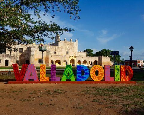 Valladolid sign, Convento de San Bernadino de Siena.