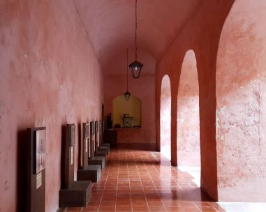 Interior of the Convent.